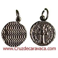 CROSS  CARAVACA MEDAL NICKEL METAL