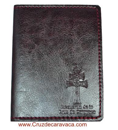 CARD FOLDER CROSS OF CARAVACA FOR SIX CARDS