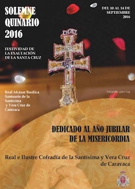 EXALTATION FROM THE BLESSED AND VERA CRUZ CARAVACA