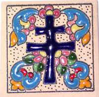 CROSS OF CARAVACA CERAMICS