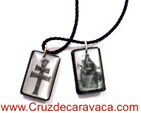 SCAPULAR CROSS OF CARAVACA
