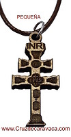 WOOD CROSS OF CARAVACA