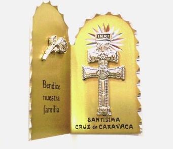 CARAVACA BLESS LITTLE CROSS FAMILY
