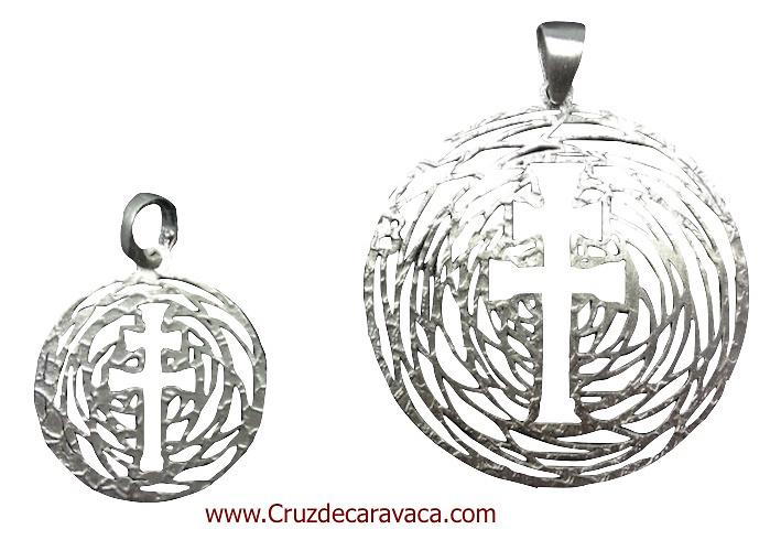 CARAVACA CROSS MEDAL MAKE IN SILVER