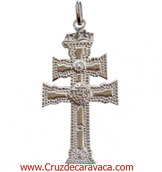 CARAVACA CROSS STERLING SILVER AUTHENTIC AS THE RELIC