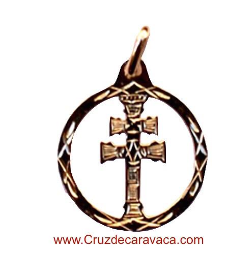 CROCE DI CARAVACA D'ORO CIONDOLO