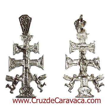 CROSS OF CARAVACA MADE IN SILVER S-71