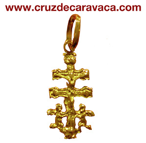 CROSS OF CARAVACA WITH ANGELES 884