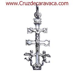 CRUZ DE CARAVACA EN PLATA CR1