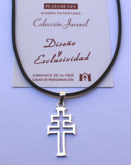 CRUZ DE CARAVACA EN PLATA DE LEY (PATENTE EXCLUSIVA)