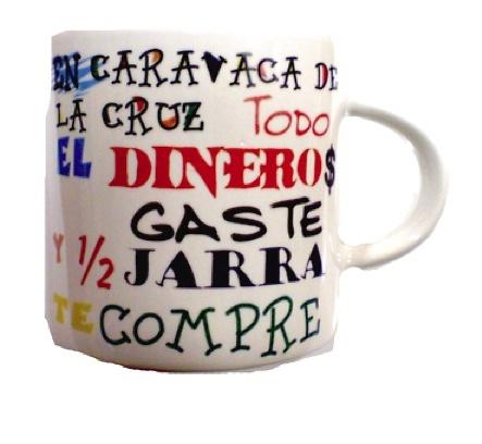 CUP SOUVERNIR CARAVACA MADE IN