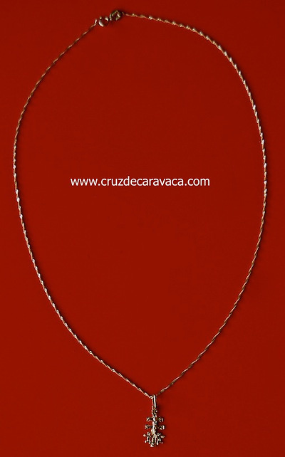 GOLD CHAIN ​​AND CROSS OF GOLD BOTH CARAVACA 18 carat