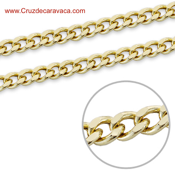 GOLD CHAIN 18 KLT AND LENGTH 60 CM. FORM MAN