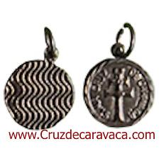 MEDAGLIA CROCE DI CARAVACA NICKEL METAL