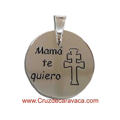 PENDANT OR BRACELET CROSS OF CARAVACA WITH THE LEGEND