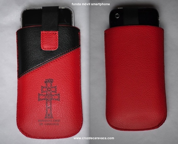 POUCH FOR PHONE WITH THE CRUZ DE CARAVACA MEDIUM FOR SMARTPHONE