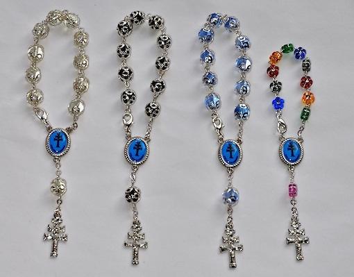 Santo rosario misterios cruz de caravaca for Como limpiar un rosario de plata