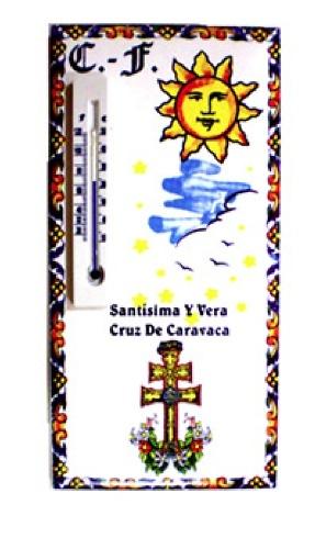 TERMOMETRO CRUZ DE CARAVACA CASVEN