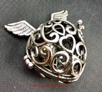 ANGEL CALLER FORM HEART  WITH WINGS WITH CORD