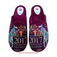 CARAVACA SHOES WITH CROSS AND WINE HORSES