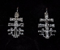 CARAVACA'S CROSS IN SILVER