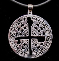 CEHEGIN CROSS MAKE IN SILVER FOR PENDANT