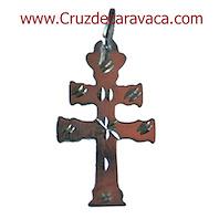 CROCE CARAVACA  A MANO CARVED TALLA MEDIA - ARTIGIANATO