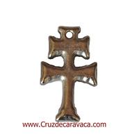 CROCE CARAVACA SOLID SILVER METAL