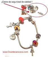 CROSS BRACELET CARAVACA DORA WITH ORIGINAL CLOSED