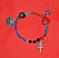 CROSS BRACELET CARAVACA HISTORY OF THE WORLD MORE BEAUTIFUL