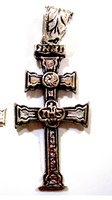 CROSS OF CARAVACA MADE IN SILVER CAR-11