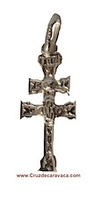 CROSS OF CARAVACA MADE IN SILVER CAR-3