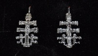 CROSS OF CARAVACA MADE IN SILVER