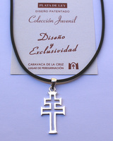 CROSS OF CARAVACA MAKE IN LAW SILVER