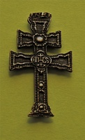 CROSS OF CARAVACA  PASTE ON MAGNET FOR METAL SUBSTRATES