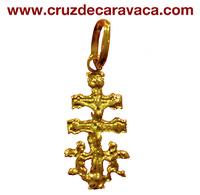 CROSS OF CARAVACA WITH ANGELES 884