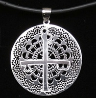 CROSS'S CEHEGIN IN SILVER PENDANT