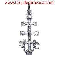 CRUZ DE CARAVACA EN PLATA CR1