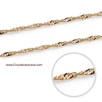 GOLD CHAIN 137A. AND LENGTH  45 CMS
