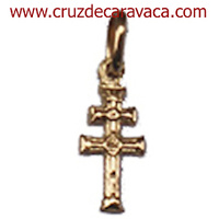 GOLD CROSS OF CARAVACA TO RELIEVE