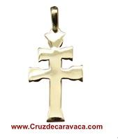 GOLDEN CROSS CARAVACA 18 KLTs MINIMALIST DESING