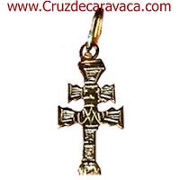 GOLDEN CROSS HANGING CARAVACA