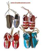 HEMP SANDALS WITH CROSS CARAVACA