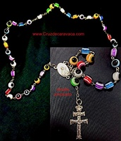 ROSARY CROSS OF CARAVACA ACCOUNTS WITH GLASS EYE TURKISH