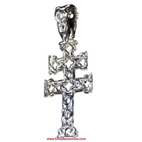 SILVER CROSS OF CARAVACA C-3