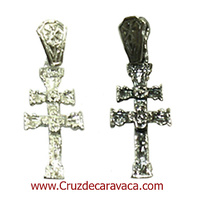 SILVER CROSS OF CARAVACA  ref3256