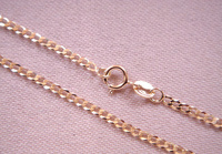 SOLID GOLD CHAIN 220C, 50 cm long