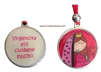 VIRGENCITA PLIS HANG - VIRGENCITA KEEP ME MUCH - ENAMELT TWO FACES
