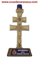 WATER BENDECIDA FOR CARAVACA's CROSS IN THE RITE OF 3 GIVES IN MAY