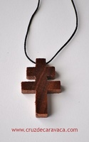 WOODEN CROSS CARAVACA TO HANGS. CRAFTS